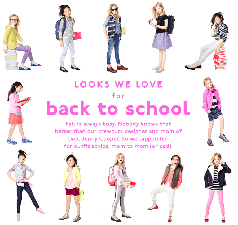 Girls Back to School Looks